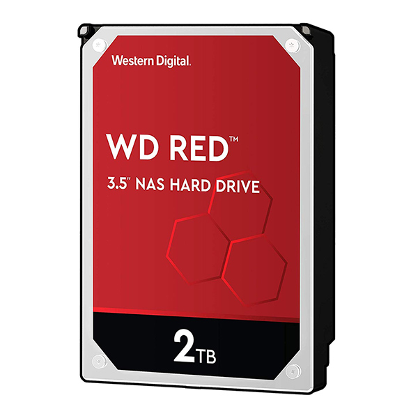 Discos Duros Internos  - WD HDD 2TB 3.5´´ 256MB CACHE 5400RPM SATA 6GB/S RED WD20EFAX