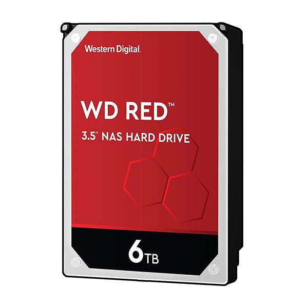 Discos Duros Internos  - WD HDD 6TB 3.5´´ 256MB CACHE 7200RPM SATA 6GB/S RED WD60EFAX