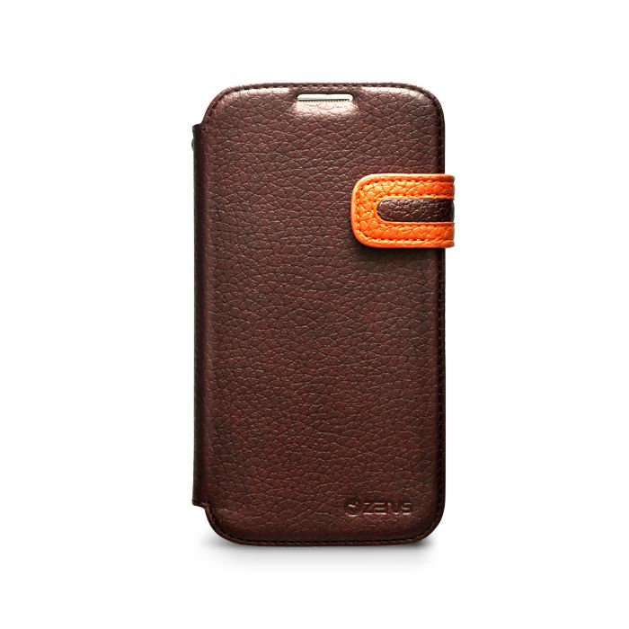 Accessories Galaxy S4 i9500 - Zenus Masstige Modern Edge Diary for Galaxy S4 i9500 | Burg